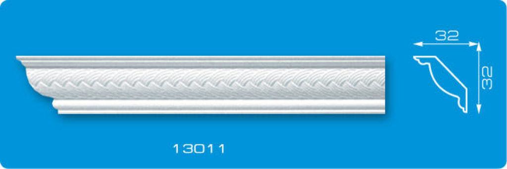 Плинтуса потолочные: Плинтус потолочный ФОРМАТ 13011 инжекционный длина 1,3м, узкий в Мир Потолков