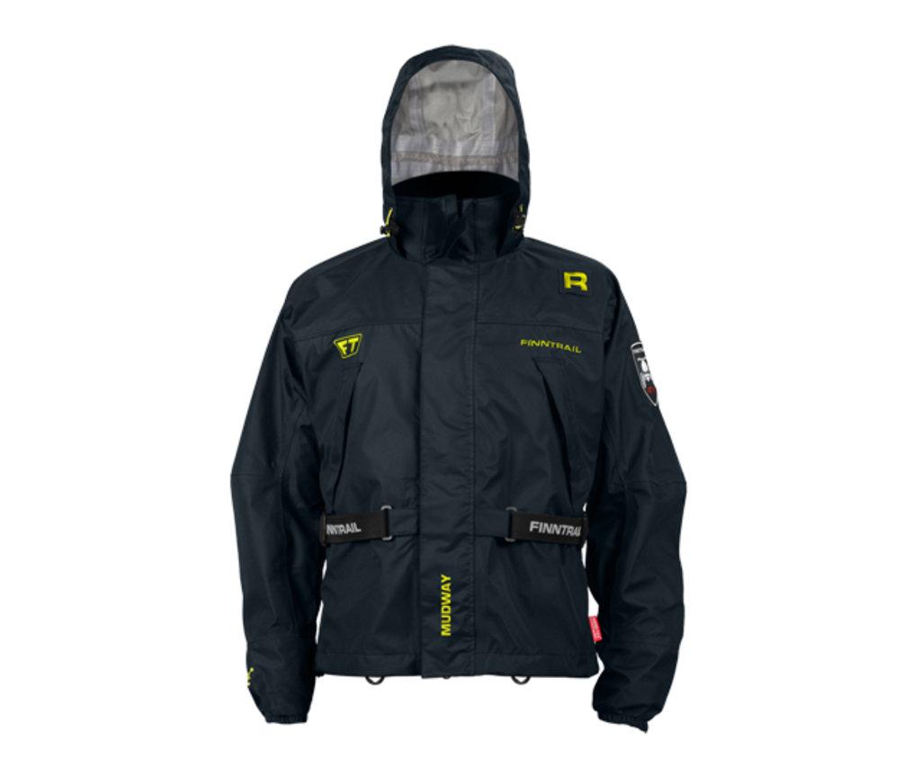 Экипировка и аксессуары: Куртка Finntrail Mudway 2000GraphiteL, 2000GraphiteL в Базис72