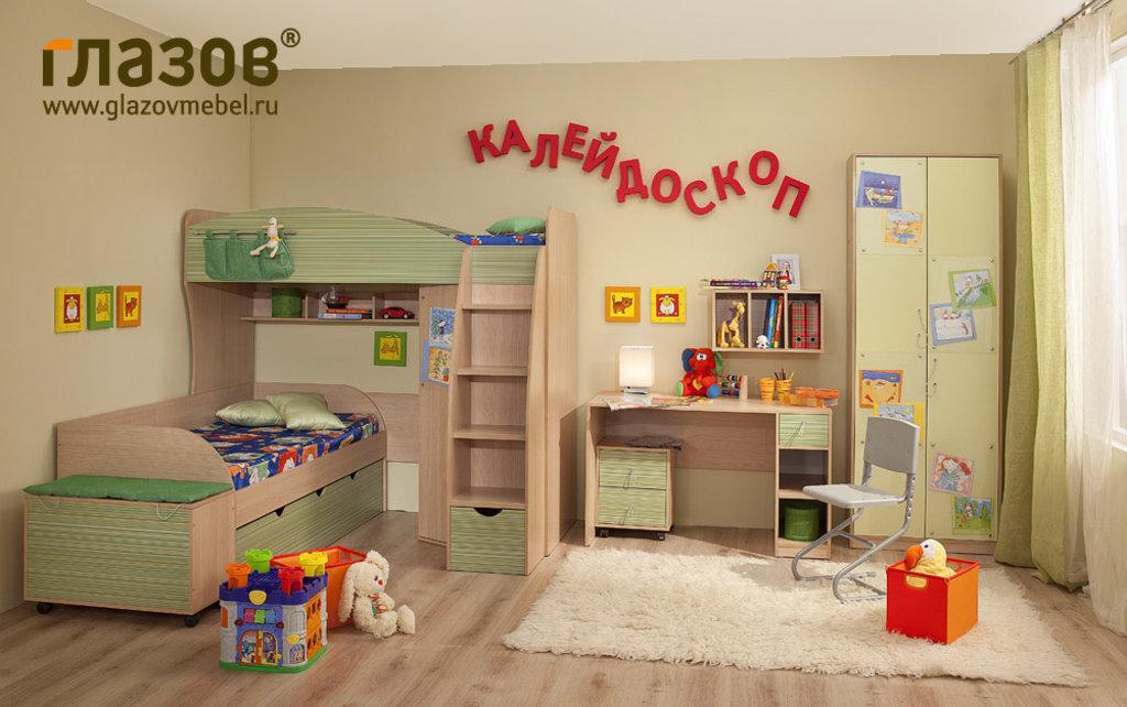 Детские и подростковые кровати: Кровать 5 Калейдоскоп в Стильная мебель