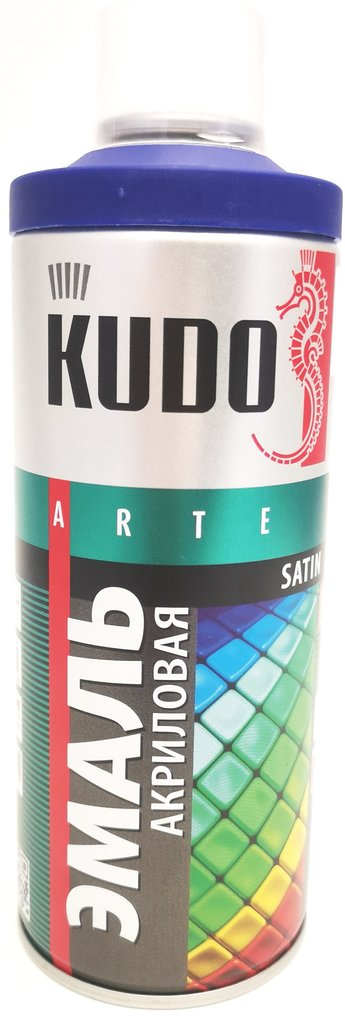 Универсальные: Краска-спрей акриловая KUDO синяя RAL 5002 в Шедевр, художественный салон