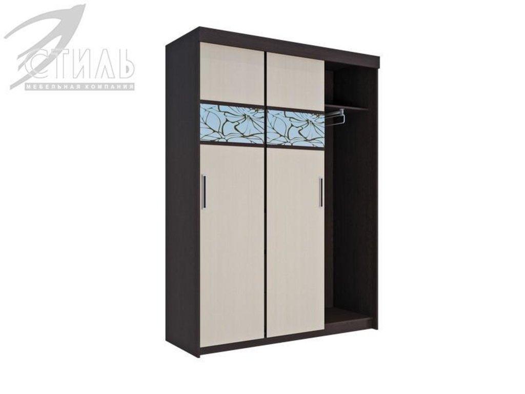 Шкафы: Шкаф-купе Комфорт-7 (Венге / Белфорд) в Диван Плюс