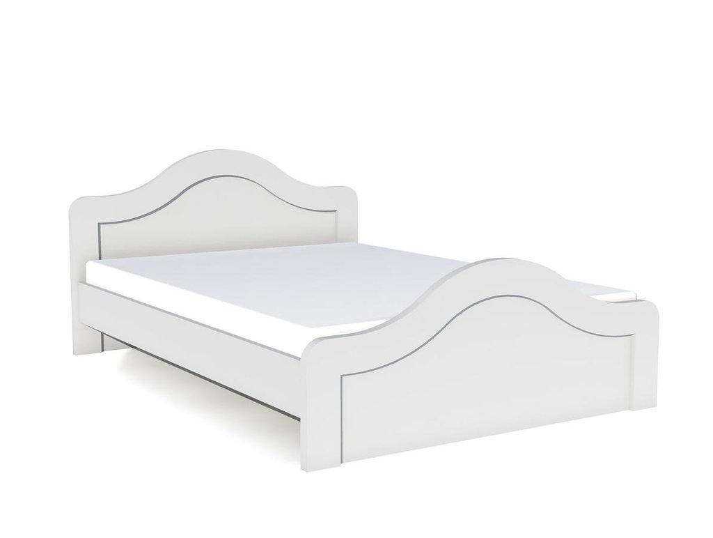 Детские и подростковые кровати: Кровать НМ 039.06 Прованс (1400x2000, усилен. настил) в Стильная мебель