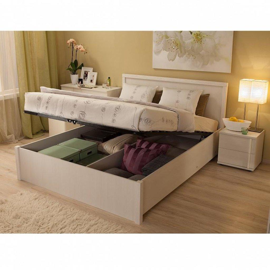 Кровати: Кровать BAUHAUS 1.2 (1800, мех. подъема) в Стильная мебель