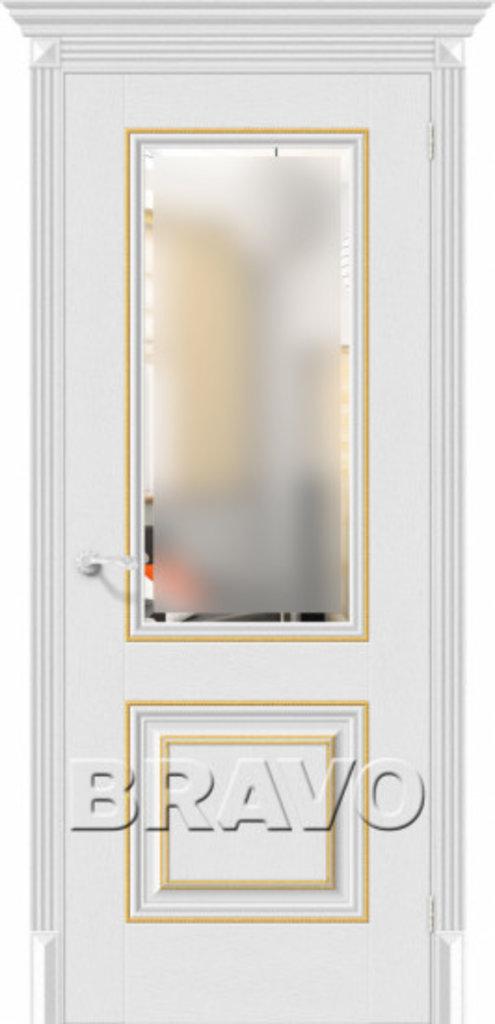 Двери экошпон BRAVO Classico: Классико-33G-27 Virgin в STEKLOMASTER