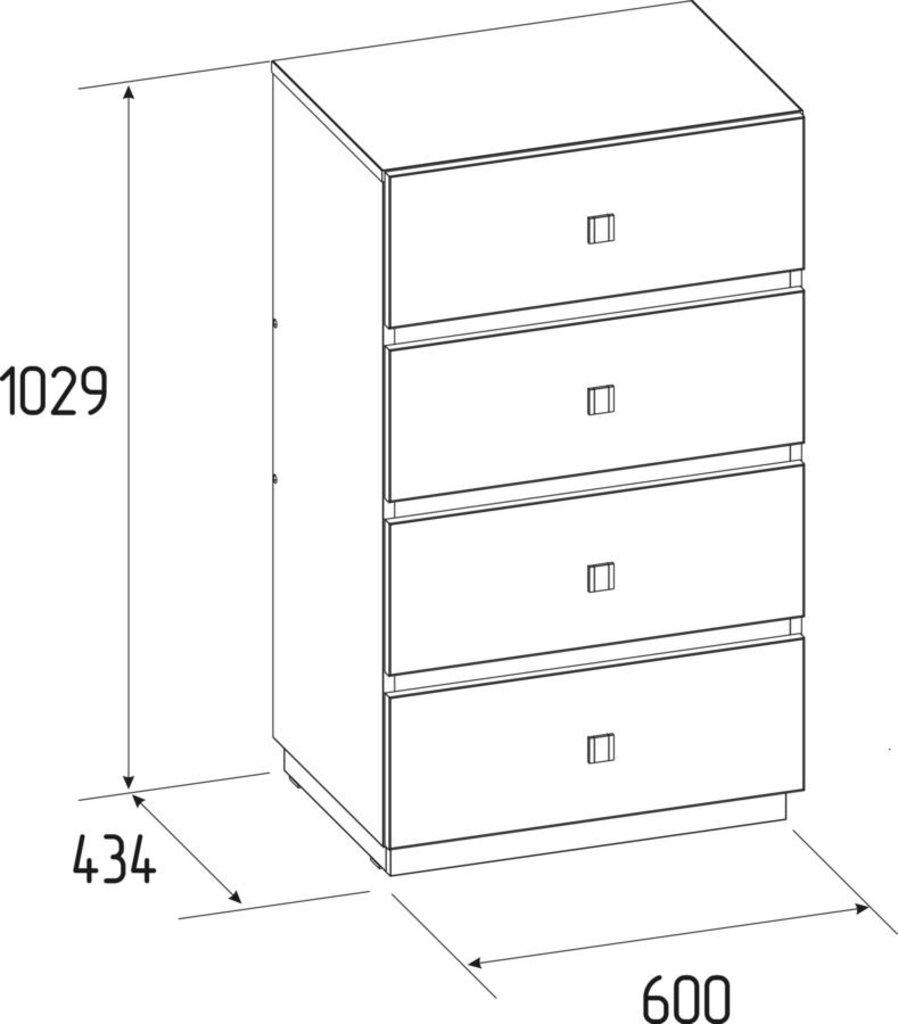 Комоды для дома: Комод Neo 45 в Стильная мебель