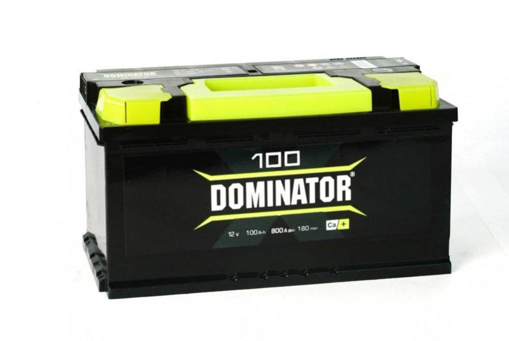 Dominator: Аккумулятор Dominator 100 в БазаАКБ