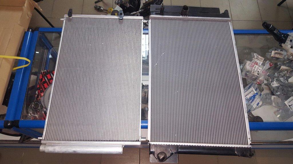 Системы охлаждения: РАдиатор кондиционера Toyota Corolla150 в VINcode