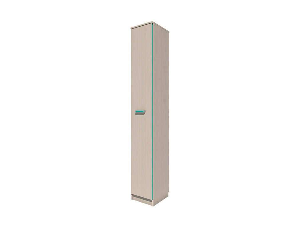 Детские шкафы и стеллажи: Шкаф-пенал скос НМ 013.05-01 ЛВ Рико в Стильная мебель