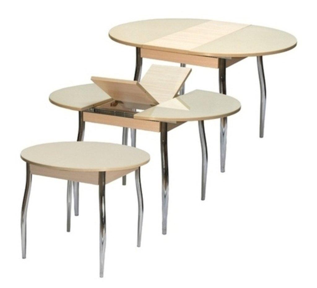 Столы кухонные: Стол ПГ-03 раздвижной (хром) в АРТ-МЕБЕЛЬ НН