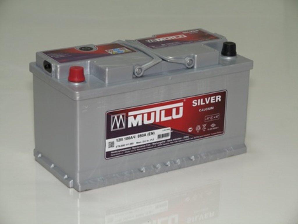 Аккумуляторы автомобильные: MUTLU SILVER 100 А/Ч R в Мир аккумуляторов