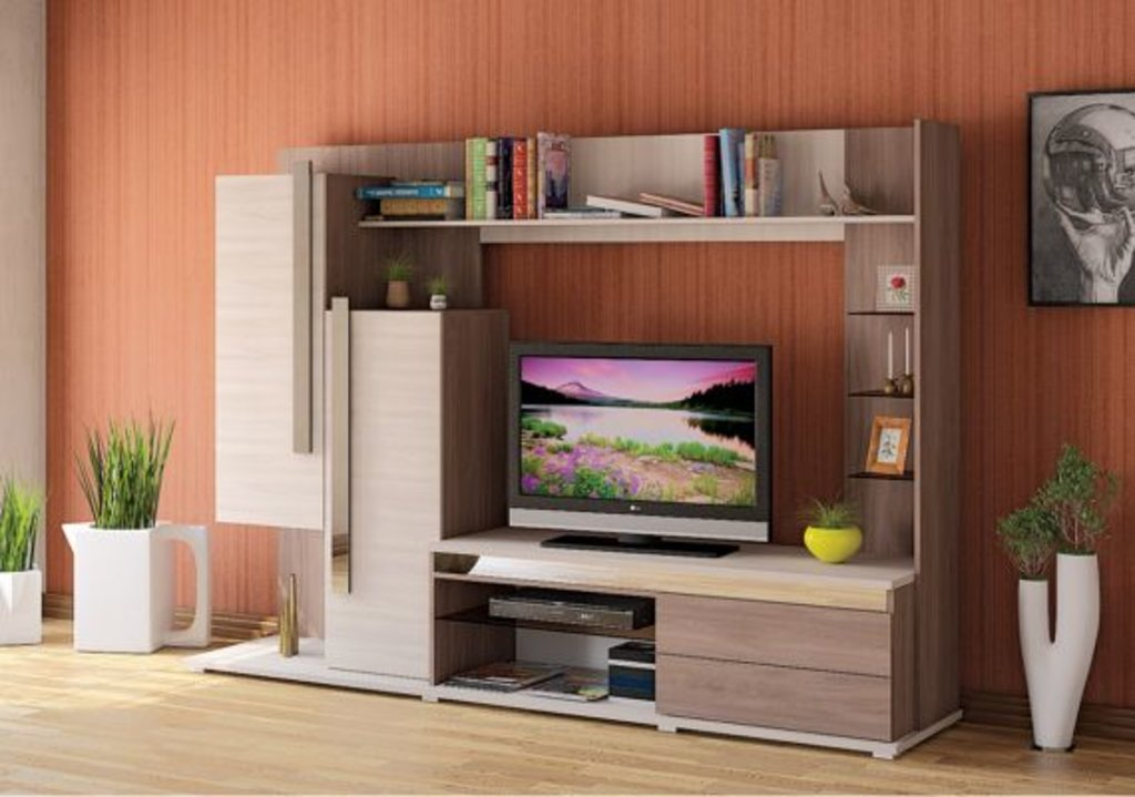 Стенки для гостиных: Латте 3 в Мебель ХИТ