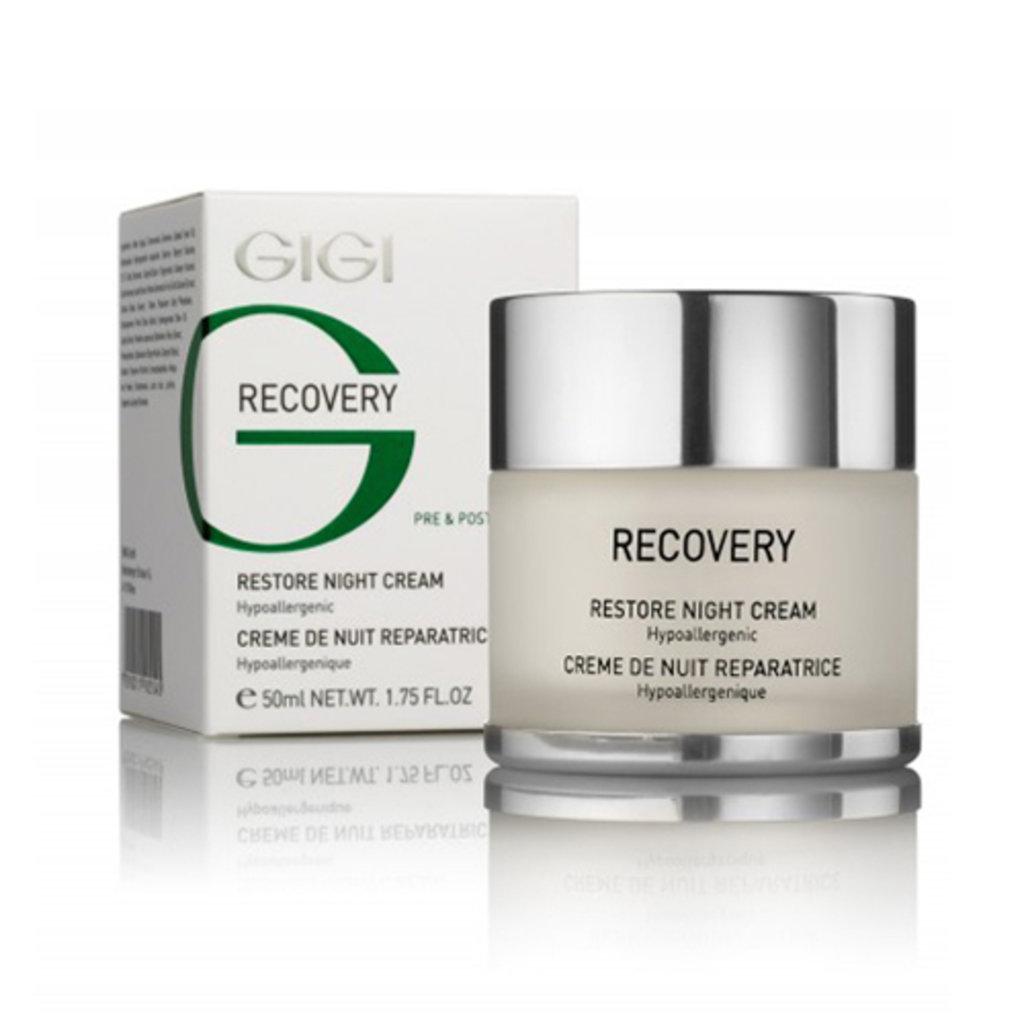 Крема: Восстанавливающий ночной крем / Restore Night Cream, Recovery, GiGi в Косметичка, интернет-магазин профессиональной косметики