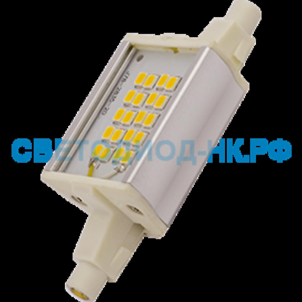 Цоколь R7s (Прожекторные лампы): Светодиодная лампа Ecola прожекторная F78 R7s 6W 4200K 4K 78x20x32 Premium алюм. радиатор J7PV60ELC в СВЕТОВОД