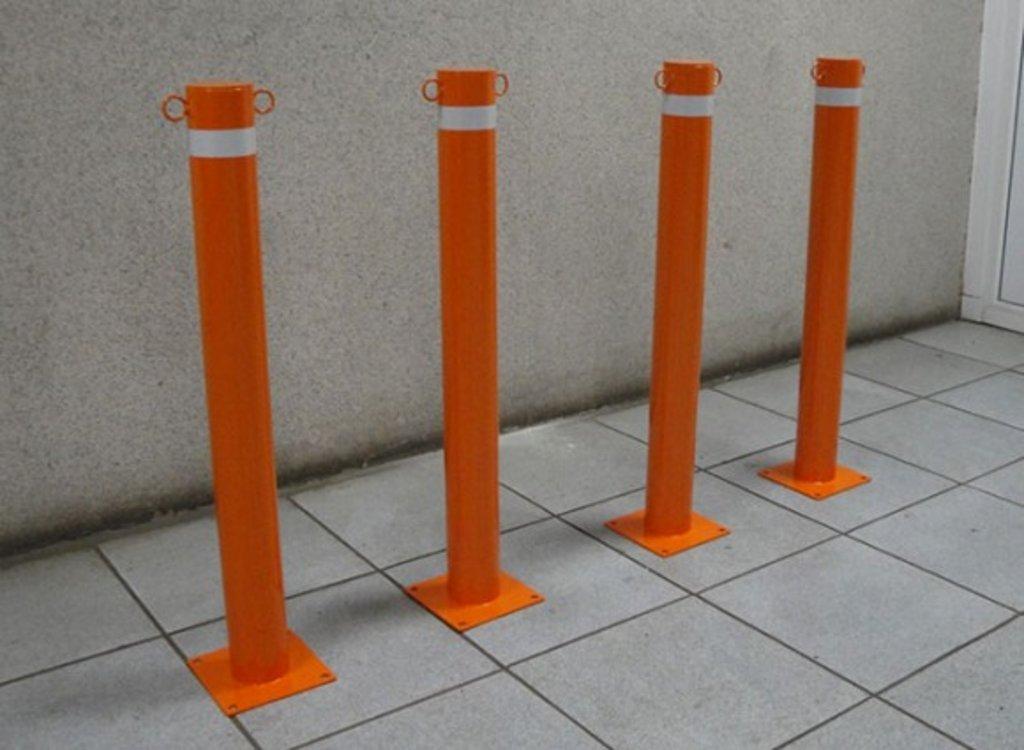 Парковочное оборудование: Анипарковочный столбик окрашенный в АБ ГРУПП
