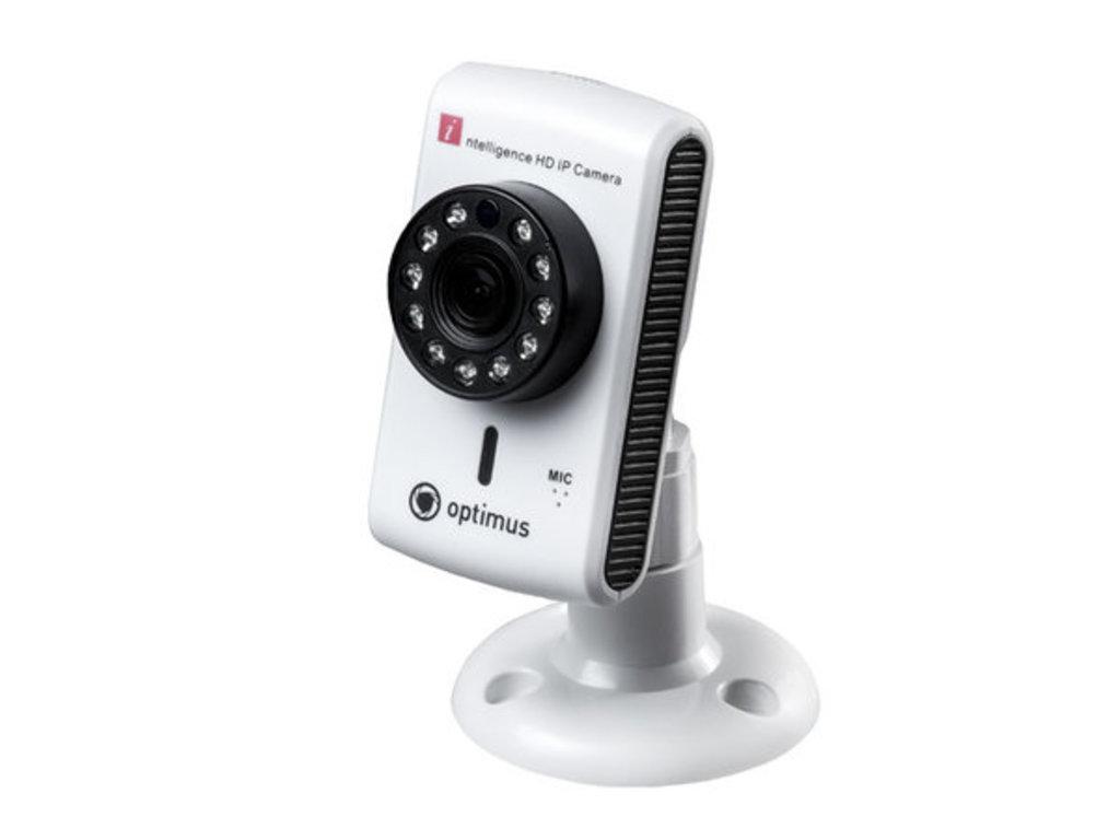IP-видеокамеры: Видеокамера Optimus IP-H061.0W(2.8) в Микровидео