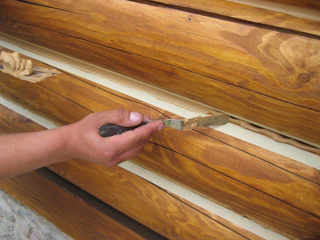 Ремонт и отделка помещений: Утепление стен в ДревДом35