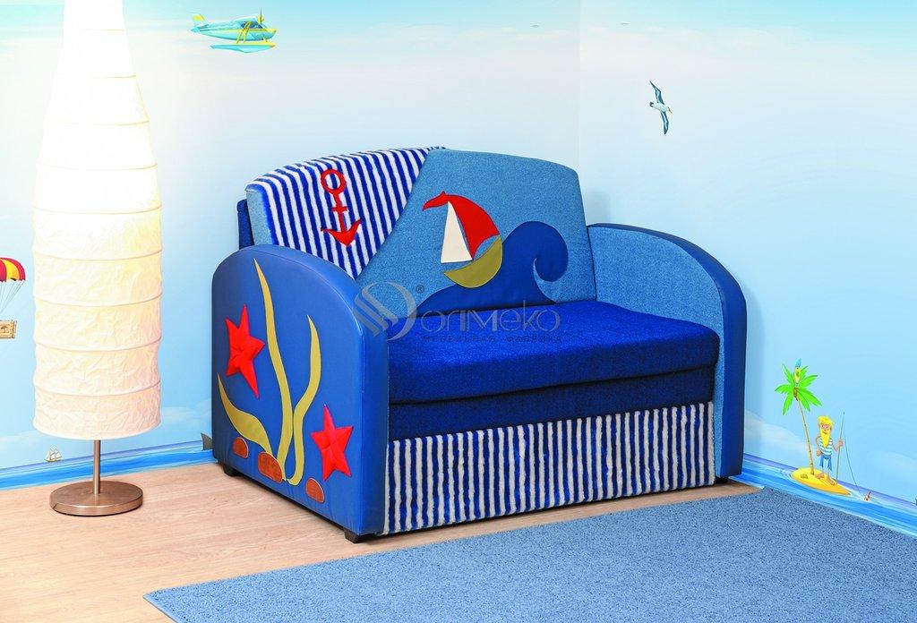 Детские диваны и мягкие кресла: Тахта Мася - 9 (кораблик) в Стильная мебель