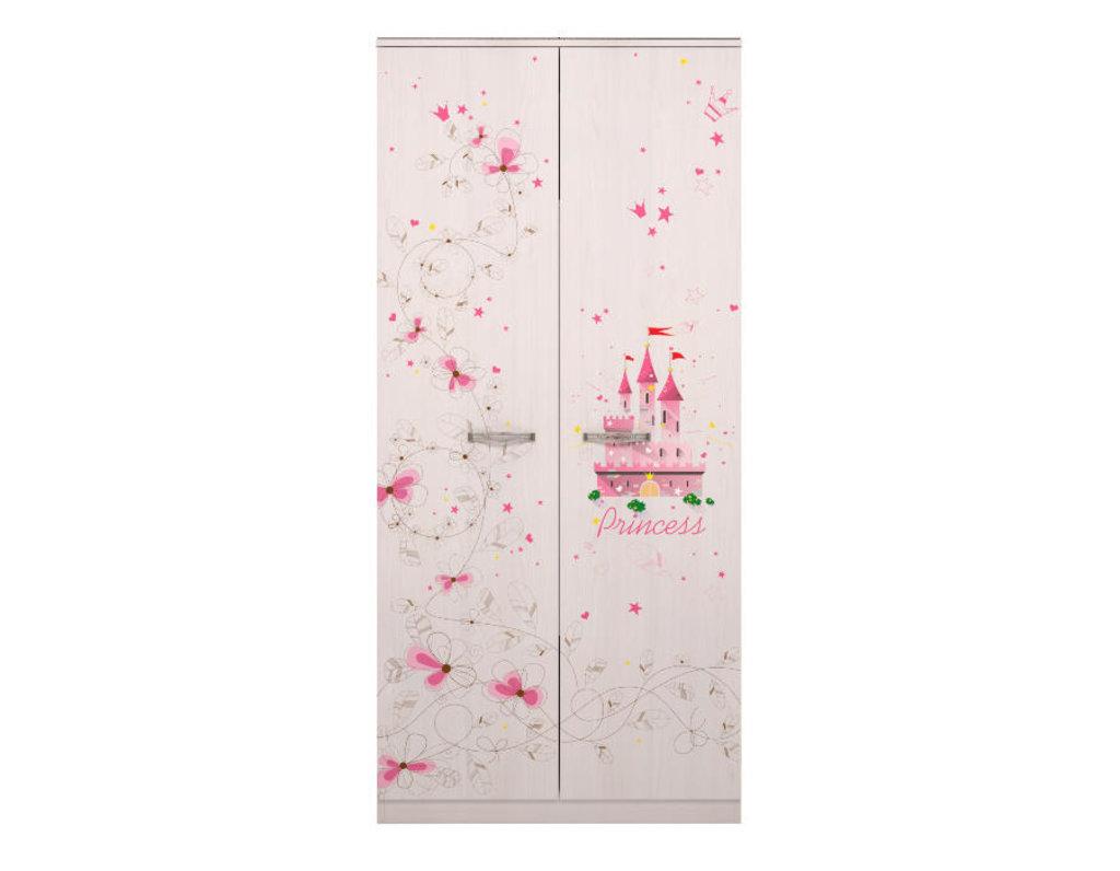 Детские шкафы и стеллажи: Шкаф для одежды 01 Принцесса в Стильная мебель