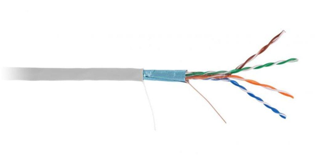 Кабельная продукция: U/UTP 4 внутренний (EC-UU004-5E-PVC-GY) в Русичи