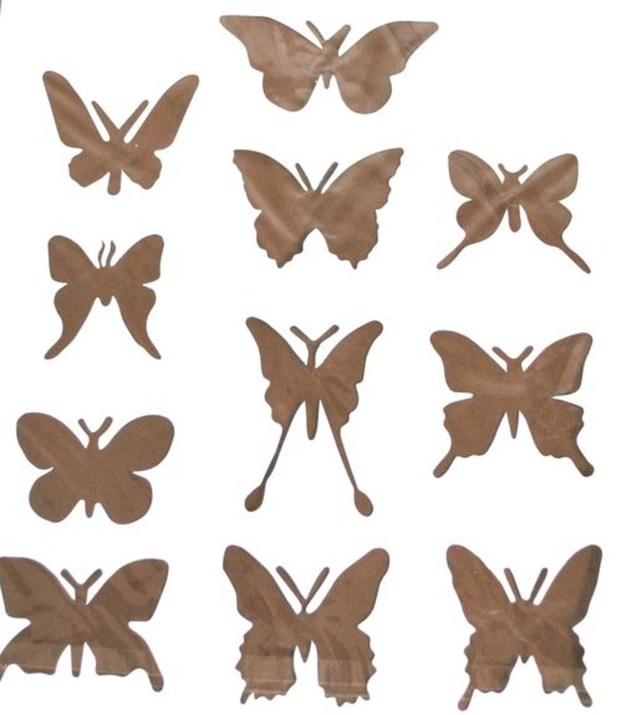Трафареты: Трафарет пластиковый 25,5х20,12см Бабочки в Шедевр, художественный салон