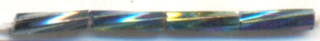 Стеклярус крученный(стекло)5мм.упак.20гр.Астра: Стеклярус крученный(стекло)5мм.упак.20гр.,цвет М-409Т(т.зеленый/крученый) в Редиант-НК