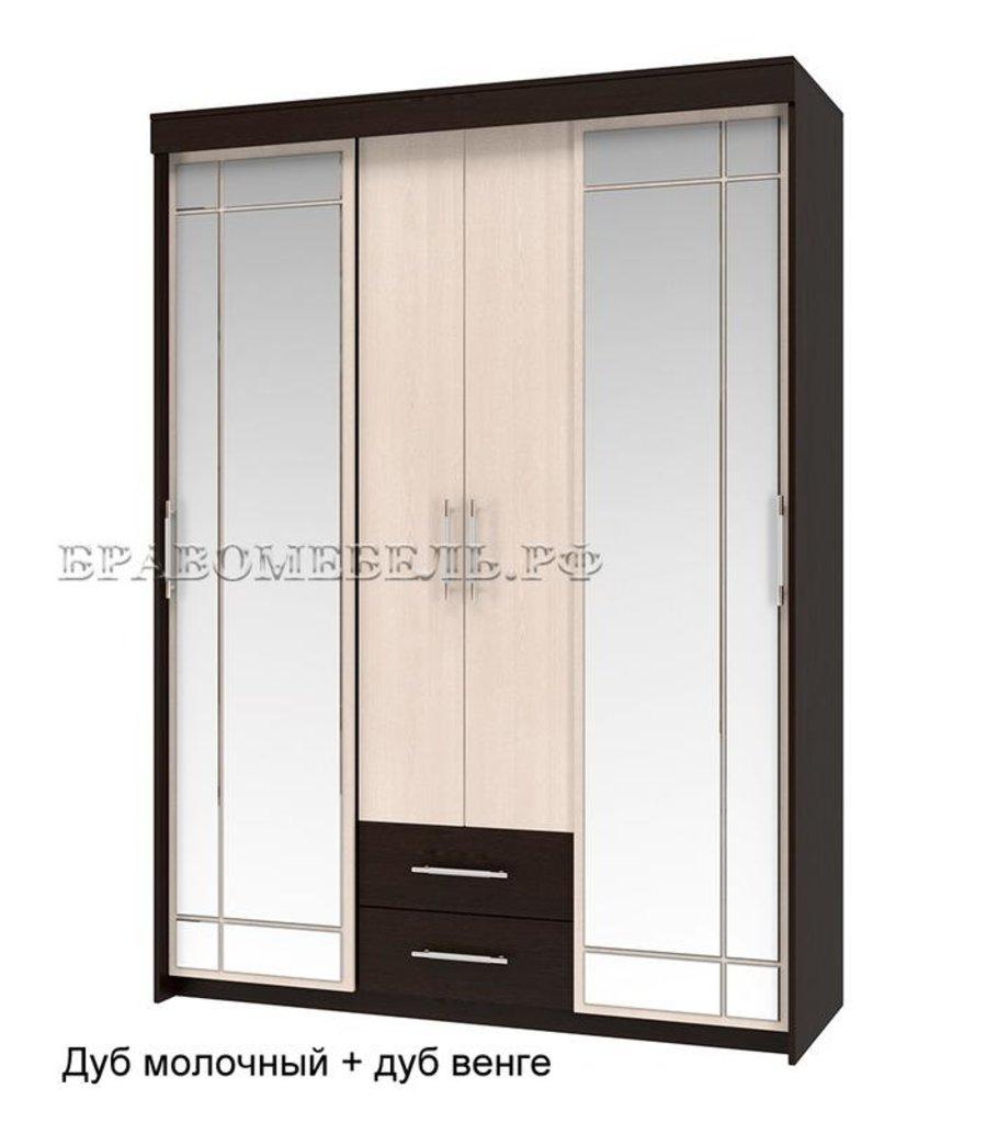 Шкафы-купе: Шкаф-купе распашной Хилтон для платья и белья в Уютный дом