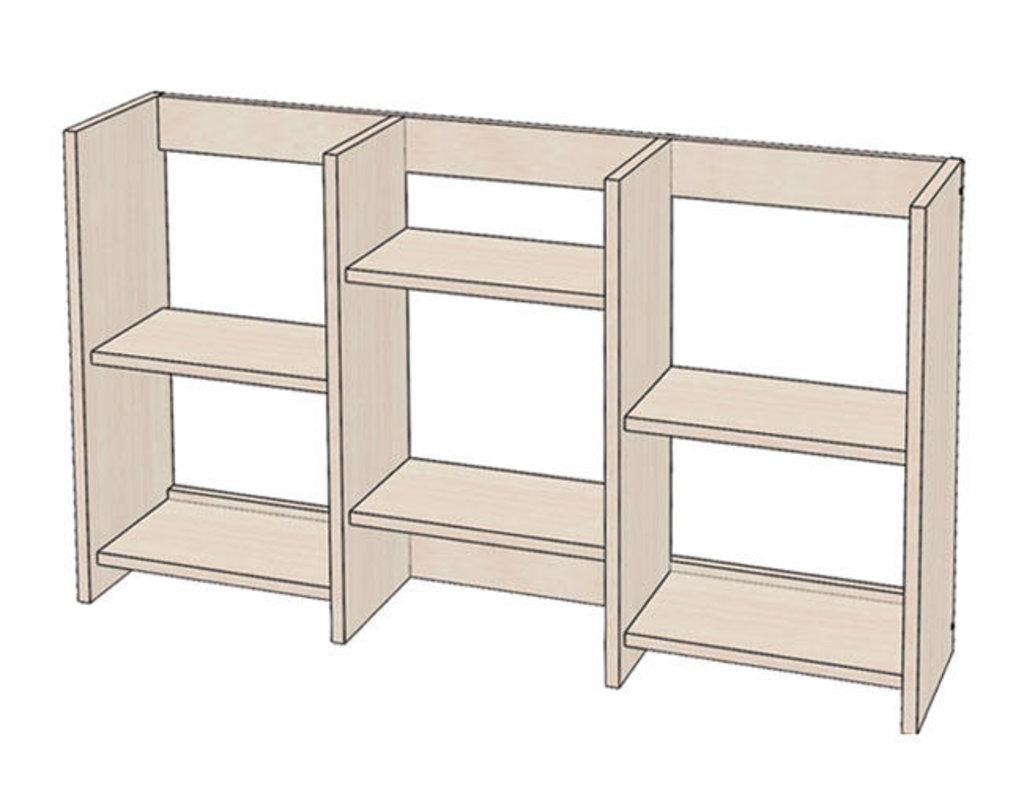 Малые формы: Полка книжная средняя в Уютный дом