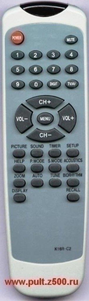AKAI: Пульт AKAI K16R-C2(TV)как ориг в A-Центр Пульты ДУ