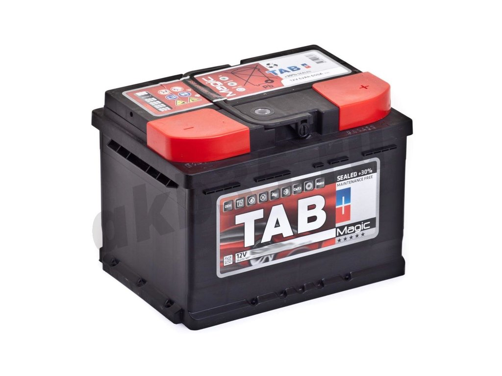 Аккумуляторы: TAB 66 А/ч Обратный MAGIC в Планета АКБ