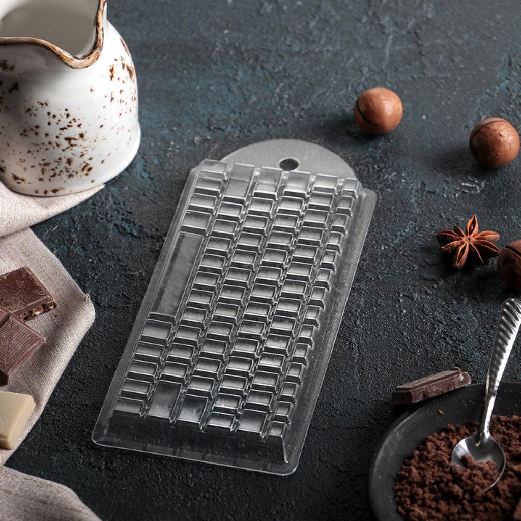 Кондитерский инвентарь: Форма для шоколада Клавиатура в ТортExpress