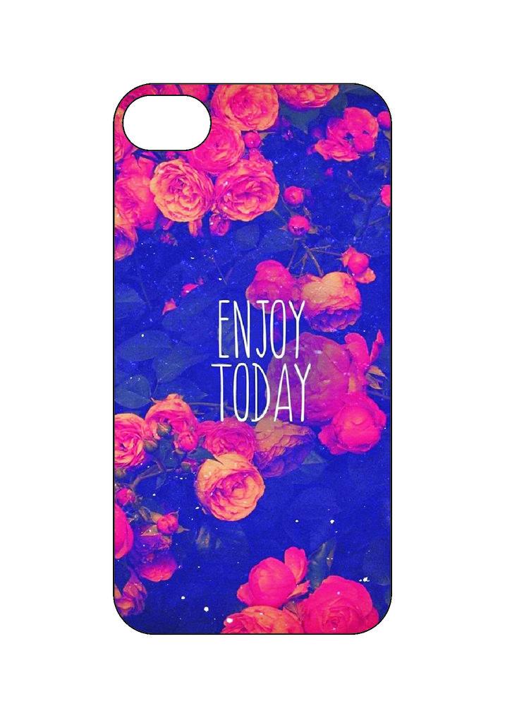 Выбери готовый дизайн для своей модели телефона: Enjoy Today в NeoPlastic