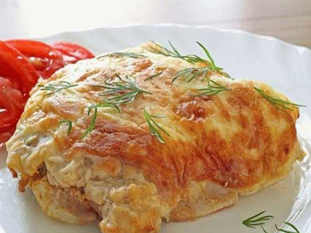 """Пятница: Куриная отбивная + салат """"Вкусный"""" в Смак-нк.рф"""