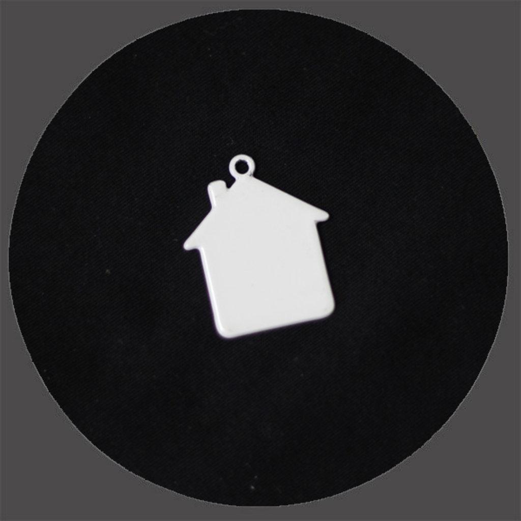 Брелоки: Брелок домик под сублимацию в NeoPlastic