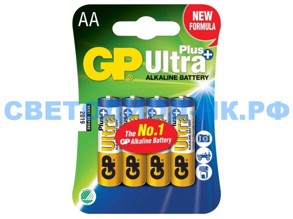 Батарейки: Элемент питания GP LR6 ULTRA PLUS ALKALINE в СВЕТОВОД