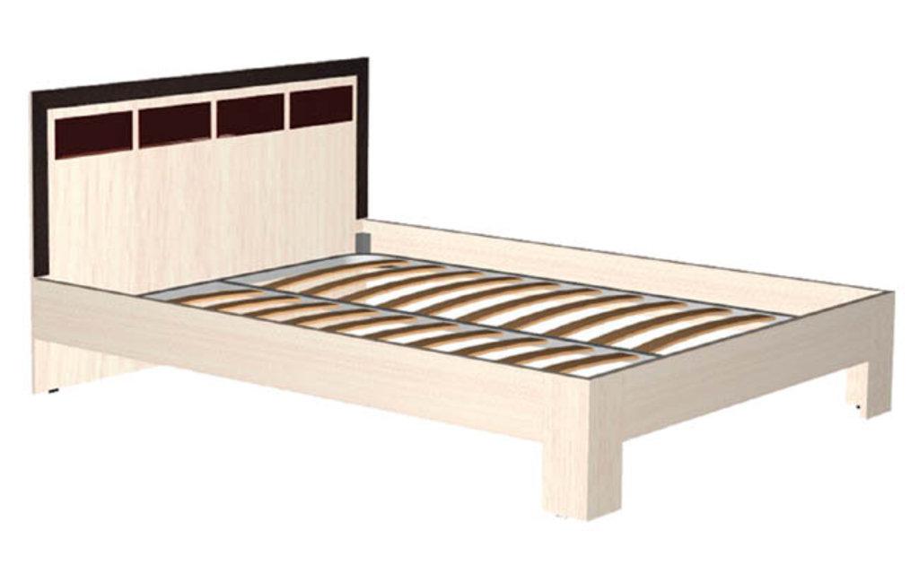 Кровати: Кровать Венеция (1400, орт. осн. дерево) в Стильная мебель