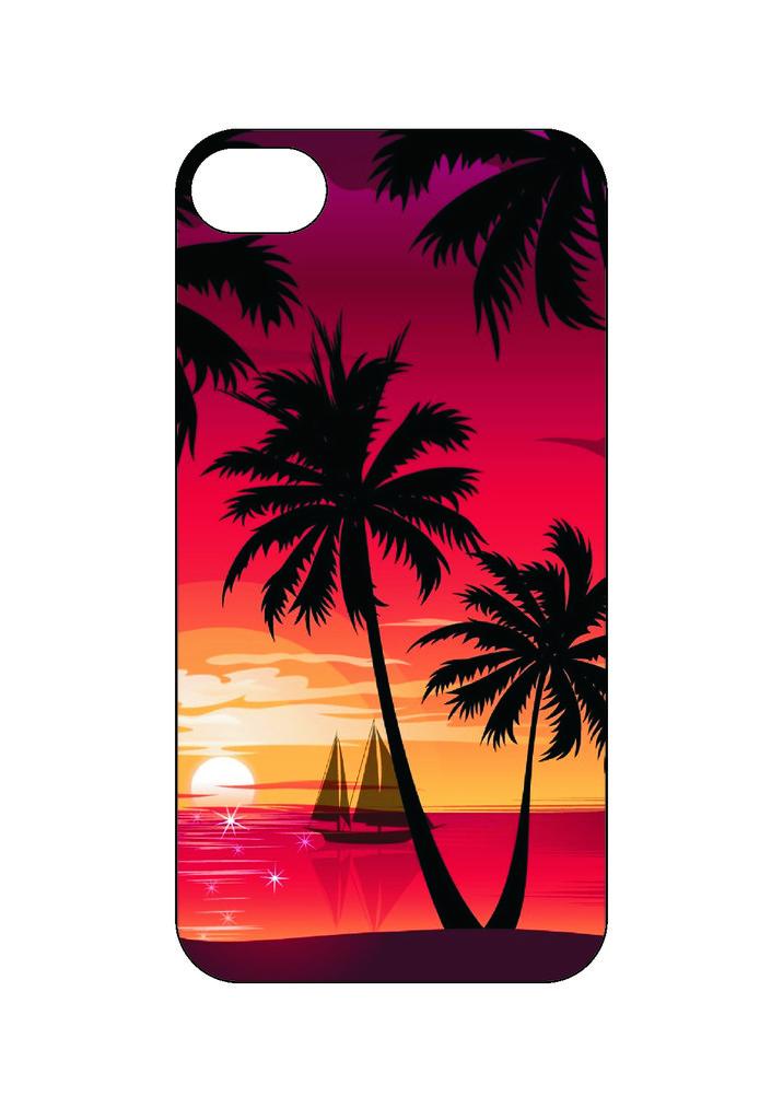 Выбери готовый дизайн для своей модели телефона: Тропики в NeoPlastic