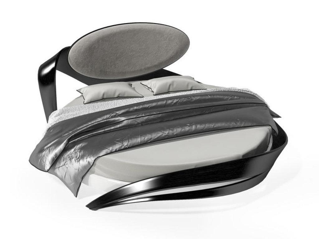 Кровати: Круглая кровать Бразо 9т в Актуальный дизайн