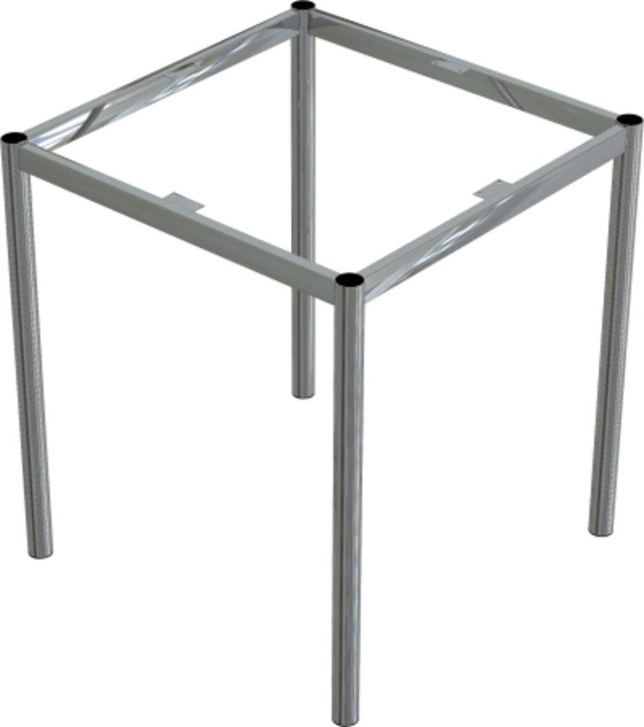 Столы для ресторана, бара, кафе, столовых: Стол квадрат 78х78, подстолья № 8 серая в АРТ-МЕБЕЛЬ НН