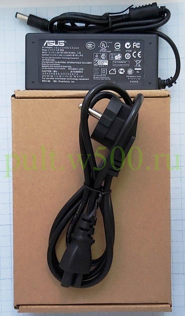 БП  19,0В 3,42А штекер 2.5*5.5  настольный с сет. шнуром ноутб. ( ASUS LF-522 ) коробка в A-Центр Пульты ДУ