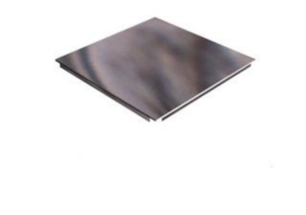 Кассетные металлические потолки: Кассета AP340АС/90° белый глянец А9016 rus в Мир Потолков