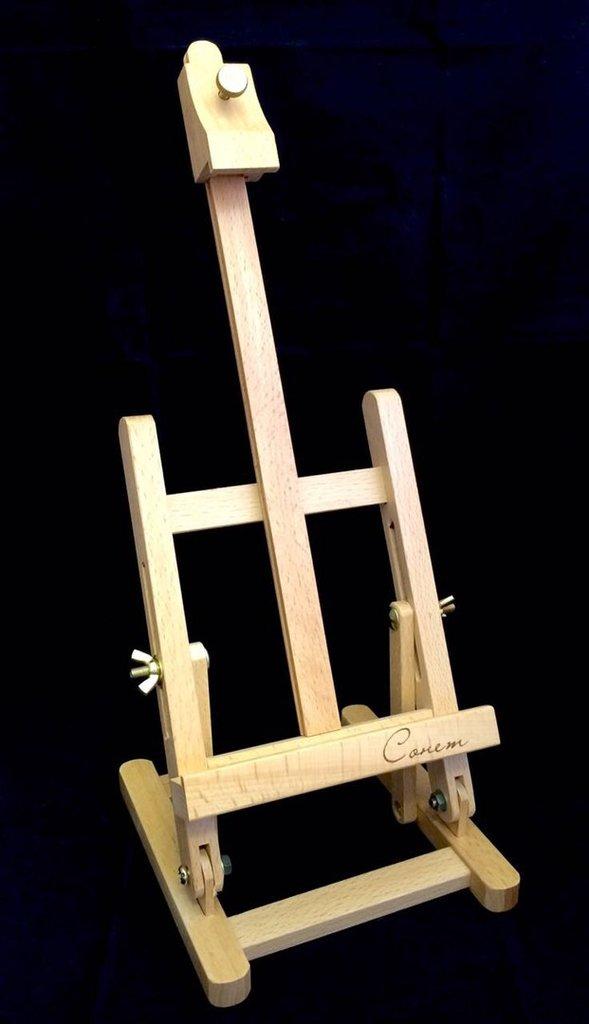 Мольберты: Сонет Мольберт Лира, настольный, бук, 16х16х39 см в Шедевр, художественный салон