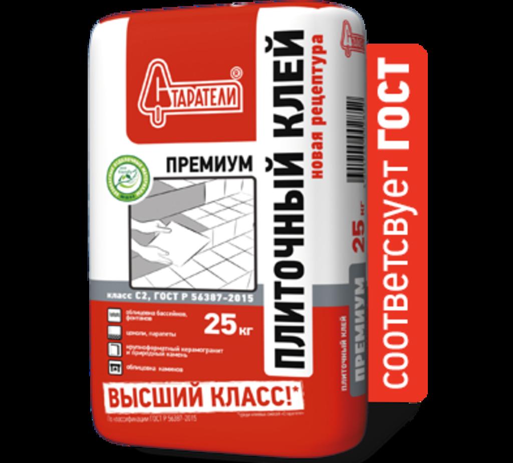 Клей плиточный: Клей плиточный Старатели Премиум, 25 кг в АНЧАР,  строительные материалы