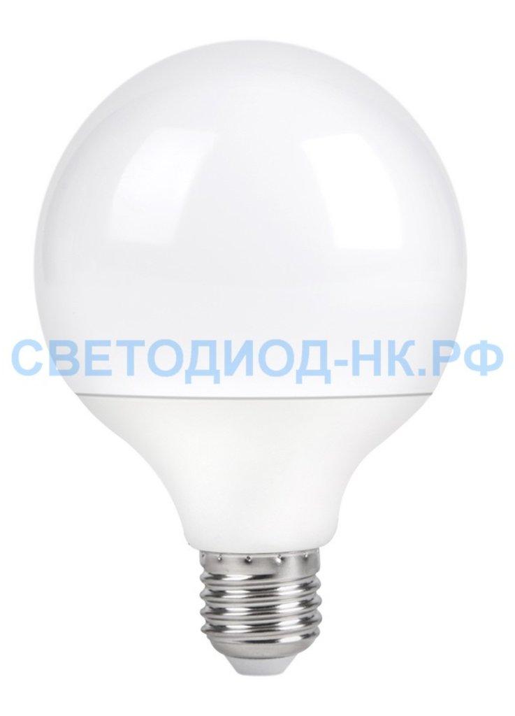 Цоколь Е27: Светодиодная лампа SMARTBUY G95-18W/4000/E27 в СВЕТОВОД