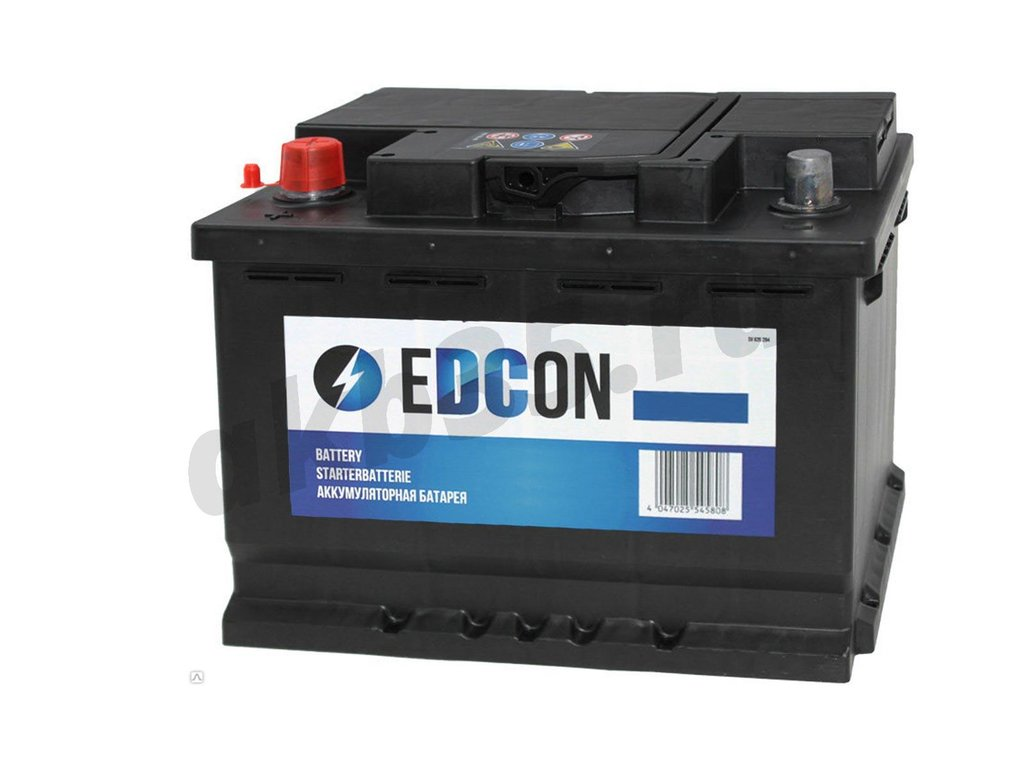 Аккумуляторы: EDCON 60 А/ч Прямой (DC60540L) в Планета АКБ