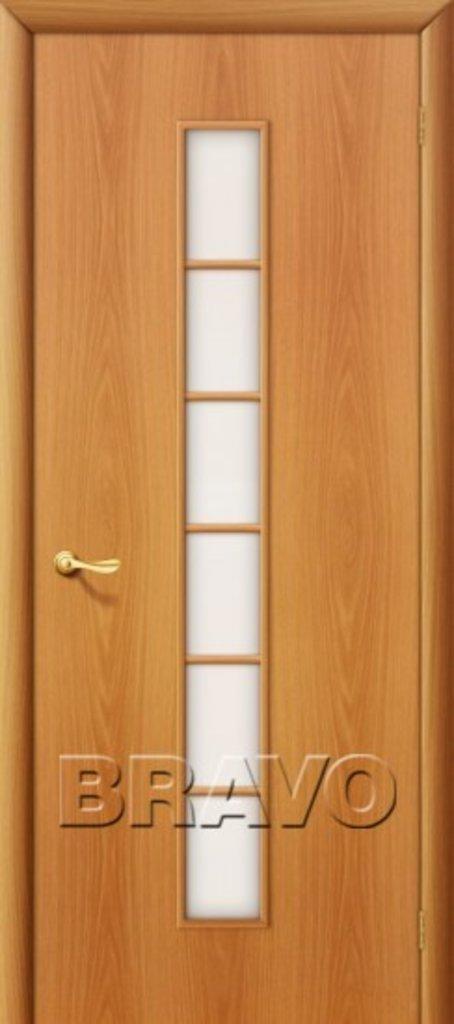 Двери ламинированные BRAVO: 2С Л-12 (МиланОрех) в STEKLOMASTER