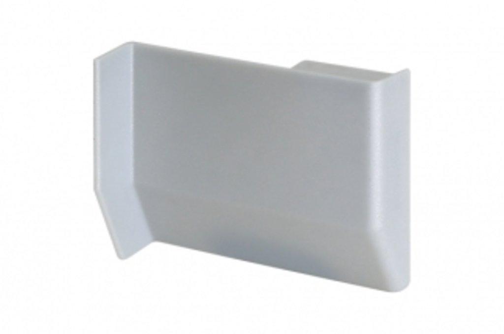 Подвеска полок: Крышечка декоративная для подвески арт.701/801 серебро, правая в МебельСтрой
