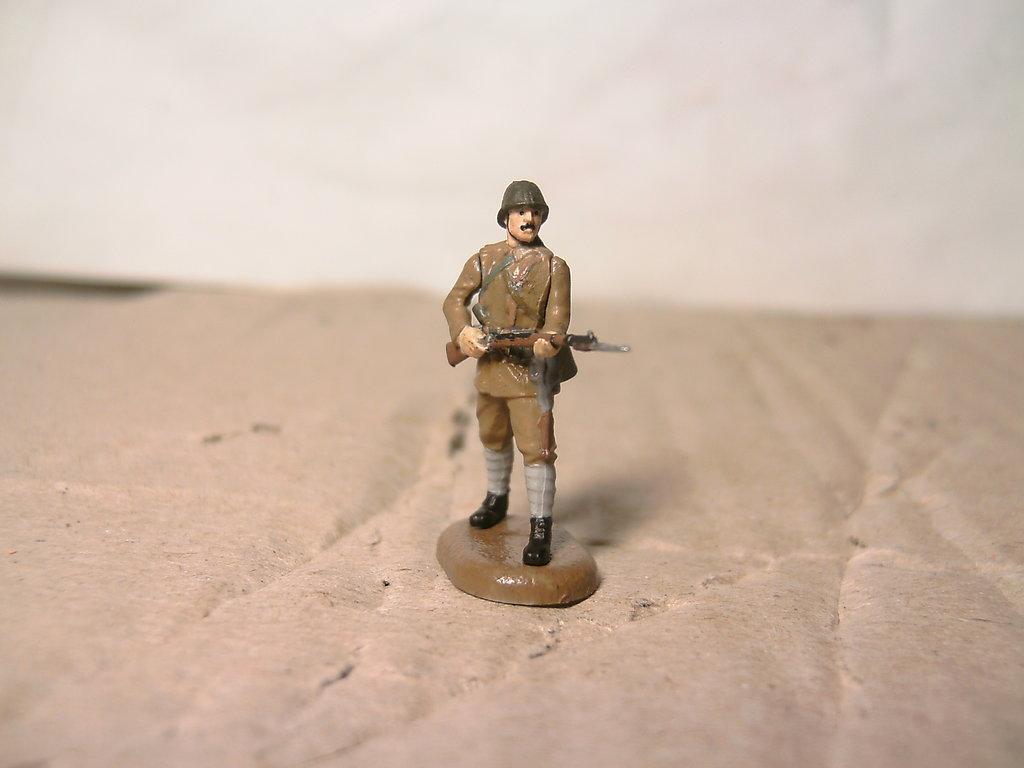 Фигурки 1/72: Румынская пехота в Модели кораблей