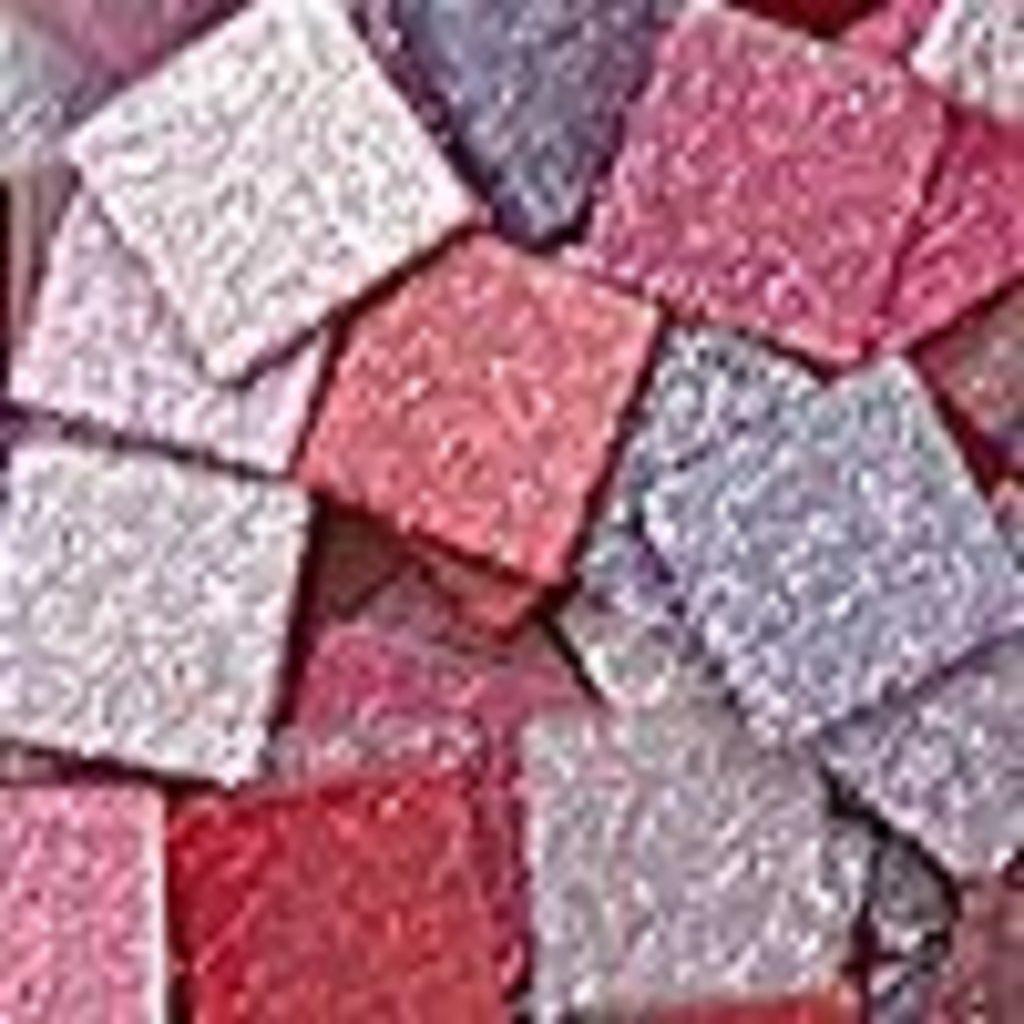 """Мозаика: FOLIA Мозаика """"Тонированная с блестками."""",10х10 мм,190 шт.,оттенки розового в Шедевр, художественный салон"""