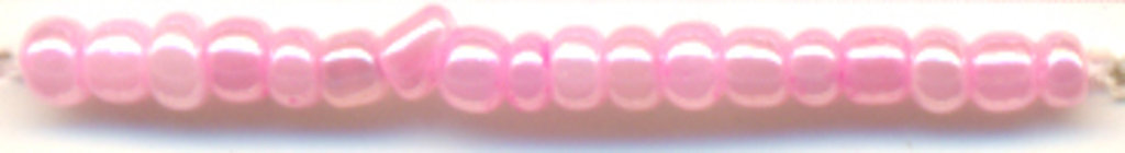 Бисер(стекло)8/0упак.20гр.Астра: Бисер(стекло)8/0,упак.20гр.,цвет 151(розовый/жемчужный) в Редиант-НК