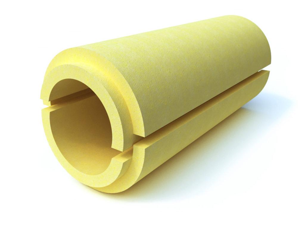 Теплоизоляция для труб: Скорлупа ППУ без покрытия (d48мм, толщина 60 мм) в Теплолюкс-К, инженерная компания